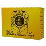 K White White Aura Soap by สบู่ฟอกผิวขาว สครับชาโคล
