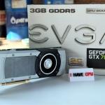 EVGA GTX 780 3GB REF SC