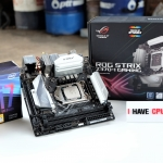 Intel Core i7-8700K @ 3.70GHz + ASUS ROG STRIX Z370-I GAMING