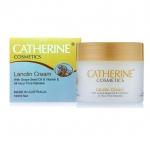 Catherine Lanolin Cream With Grape Seed Oil ครีมแคทเธอรีนลาโนลินผสมน้ำมันเมล็ดองุ่นสกัดและวิตามินอี 100g