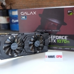 GALAX GeForce® GTX 1070 Ti EXOC