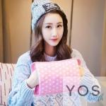 กระเป๋าน้ําร้อนไฟฟ้าลายจุด Y414-PI สีชมพู
