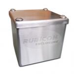กล่องพลูบล็อกสแตนเลส Pull Box Stainless (ไม่มีแผ่นรองอุปกรณ์)