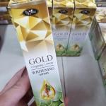 เซรั่มโสมมะนาวทองคำ GOLD Ginseng Lemon WHITENING serum By jeezz 60 มล.