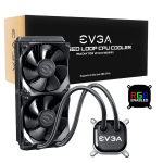 EVGA CLC 240 Liquid / Water CPU Cooler, RGB LED Cooling