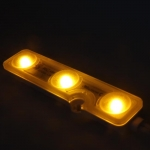 ไฟแอลอีดีโมดุลเกาหลี 3 ดวง สีเหลือง กินไฟ 0.72 w แบรนด์ NCLED
