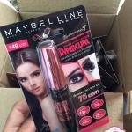 Maybelline Hypercurl Black Volum' Express Waterproof Mascara : เมย์บิลีน เมย์เบลลีนวอลุ่ม เอ็กซ์เพรส ไฮเปอร์เคิร์ล วอชเอเบิ้ล เรโน แบล็ค มาสคาร่า