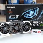 Gigabyte GeForce GTX 980 Ti G1 Gaming SOC
