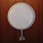 ตู้ไฟปั๊มนูนวงกลม เส้นผ่าศูนย์กลาง 30 cm (ราคารวม สติ๊กเกอร์)