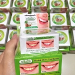 Green Herb Toothpaste ยาสีฟันสมุนไพรเข้มข้น กรีนเฮิร์บ สูตรกานพลูและมะพร้าว