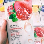 Natural Extracts Pomegranate Moisture & Brightening Invisible Mask มาส์กทับทิม