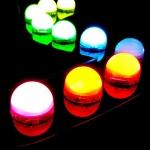 ไฟแอลอีดีหัวปิงปอง 1 ดวง 12v./0.72w RGBF ฟูคัลเลอ ไฟLEDเปลี่ยนสีได้ วิ่งได้ ตามความต้องการ หลากสี เหมาสำหรับทำป้ายเรโท ป้ายย้อนยุคป้ายสมัยใหม่