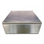 กล่องสแตนเลสกันน้ำ Junction Box ขนาด 350x350x150mm.