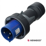 ปลั๊กตัวผู้กันน้ำ MENNEKES (รหัส 13202) (3P) 63A ,230V ,IP67