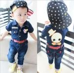 BabyCity ชุดยีนส์ผ้ายืดเกาหลี