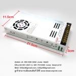 PowerSupply Dimmer 12V 400WCแบบ ZX ใช้สำหรับใส่ไฟLED เพื่อนป้อนกระแสไฟ และปรับโวลได้ 8-12v.โมเดล Zillion