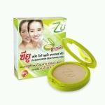 ZU Oil Control Powder Cake ซียูแป้งพัฟเนื้อเนียนละเอียด