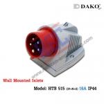 ปลั๊กตัวผู้ติดลอย HTB 515 (3P+N+E) 16A ,380-415V ~,IP44 ,DAKO