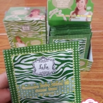 LELA Common Baby White BB SPF 50 PA+++ Green Base เลล่าบีบี ม้าลายเขียว แบบซอง