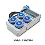 A10MF01-4 กล่องไฟสนามกันน้ำ (2P+E) 16A 230V