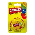 ลิปบาล์มกลิ่นเชอร์รี่ผสมกันแดด Carmex Moisturizing Lip Balm Cherry 7.5g SPF15 (แบบตลับ)