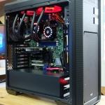 เครื่อง Workstation 12C 24T และ GTX 1050