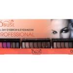 Obuse All Day Eyebrow&Eyeshadow OB 1294 โอบิวซ์ ออล เดย์ อายบราวแอนด์อายชาโดว์ พาเล็ตตอายชาโดว์ 5 เฉดสี