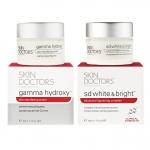 Skin Doctors Gamma Hydroxy 50ml. + SD White & Bright 50ml.