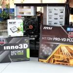 ของใหม่ i3-7100/H110/GTX 1050/1TB/4GB