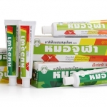 Herbal toothpaste brand Mao jula ยาสีฟันผสมสมุนไพร (หมอจุฬา)