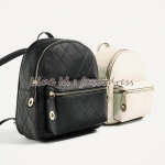 new arrival ZARA quilted rucksack