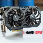 GIGABYTE GeForce GTX 750 Ti 2GB WINDFORCE 2X OC EDITION