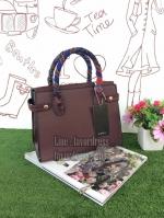 zara medium city bag with scarf กระเป๋าZARAทรงCity handbag