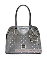 NEW ARRIVAL! GUESS PRESTON DOME SATCHEL BAG