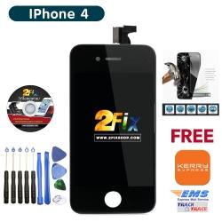 หน้าจอ iPhone 4G พร้อมทัสกรีน (Black)