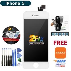 หน้าจอ iPhone 5 พร้อมทัสกรีน (White)