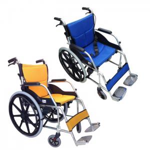 รถเข็นสำหรับผู้สูงอายุและผู้ป่วยอัลลอยด์เปลี่ยนเบาะได้ ล้อ 22 นิ้ว ยี่ห้อEasy4u รุ่น114ํY มี 2 สีให้เลือก
