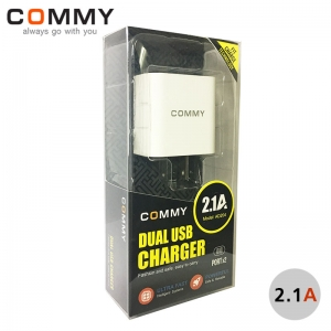 "Adapter Dual USB (2.1A) ""Commy"""