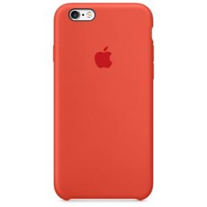 เคสซิลิโคน iPhone 6 Plus / 6s Plus - สีส้ม ( Original )