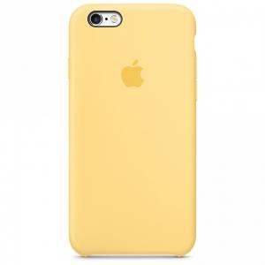 เคสซิลิโคน iPhone 6 Plus / 6s Plus สีเหลือง ( Original )