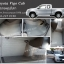 ยางปูพื้นรถยนต์ Toyota Vigo Cab ลายกระดุมสีเทา