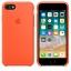 เคสซิลิโคน iPhone 7 / 8 สีส้มสไปซี่( Original ) thumbnail 4