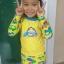 ชุดว่ายน้ำเด็ก สีเหลือง แขนยาวใส่ได้ทั้งเด็กผู้หญิงละผู้ชาย thumbnail 2