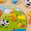 กระดานไม้จิ๊กซอว์สัตว์ในฟาร์ม thumbnail 7
