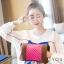 กระเป๋าน้ําร้อนไฟฟ้าลายจุดเล็ก Y415-PI สีชมพู thumbnail 1