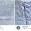 เดรสออกงานสุดหรู สีเทา ตัวเสื้อผ้าโปร่งแต่งด้วยดิ้นเล็กๆๆสีเงิน แขนยาว 3 ส่วน แต่งโบว์ที่เอว thumbnail 8
