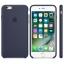 เคสซิลิโคน iPhone 6 Plus / 6s Plus - สีมิดไนท์บลู ( Original ) thumbnail 2
