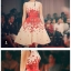 set เสื้อและกระโปรงพิมพ์ลายดอกกุหลาบสีแดง สวยมากๆๆค่ะ thumbnail 7