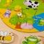 กระดานไม้จิ๊กซอว์สัตว์ในฟาร์ม thumbnail 8
