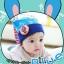 หมวกหูยาวลายกระต่าย Minito thumbnail 6